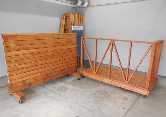 ウッドデッキと木の塀のイメージ画像3